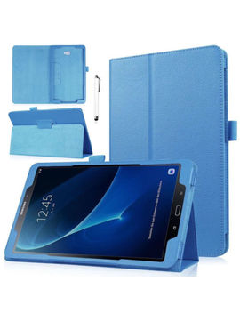 """For Samsung Galaxy Tab A A6 7"""" 8"""" 10.1"""" T580 Tablet Leather Stand Cover Case Wq by Unbranded/Generic"""