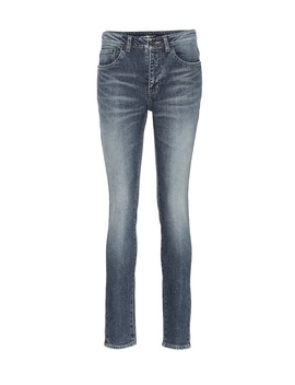 Mid Rise Skinny Jeans by Saint Laurent