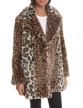 Tiaret Faux Fur Jacket by Joie
