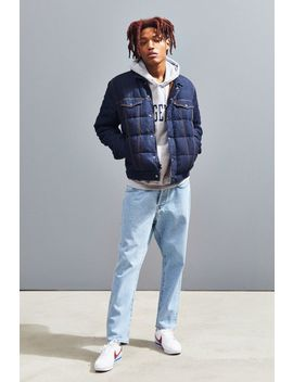 Levi's Down Puffer Trucker Jacket by Levi's