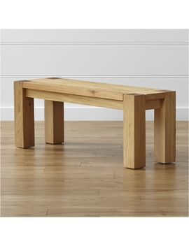 "Big Sur Natural 48"" Bench by Crate&Barrel"