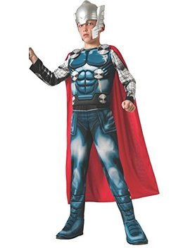 Marvel Universe Avengers Assemble Thor Deluxe Costume, Large by Rubie's