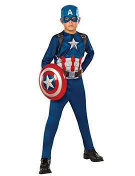 Rubie's Costume Captain America 3: Civil War Kids Value Costume, Large by Rubie's