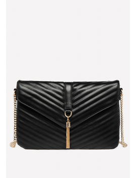 Quilted Flat Crossbody Bag by Bebe
