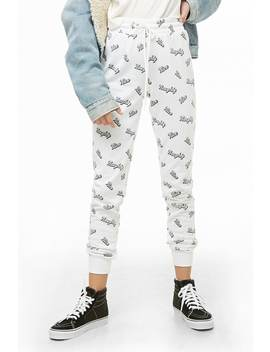 Naughty Graphic Joggers by Forever 21