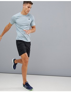 New Balance   Running Tenacity   T Shirt Chiné   Gris by New Balance