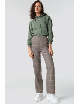 Checked Suit Pants by Astrid Olsen X Na Kd