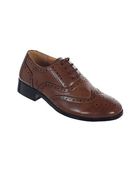 Avery Hill Boys Lace Up Formal Oxford Style Special Occasion Dress Shoes by Avery Hill