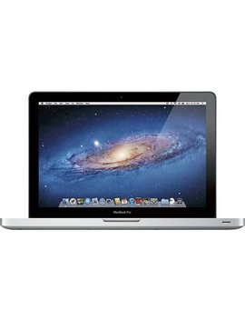 """Mac Book Pro 13.3"""" Pre Owned Laptop   Intel Core I5   4 Gb Memory   320 Gb   Silver by Apple"""