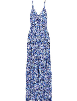 Chiltington Floral Print Jersey Maxi Dress by Michael Michael Kors