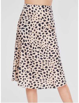 High Waist Leopard Skirt   Leopard M by Zaful