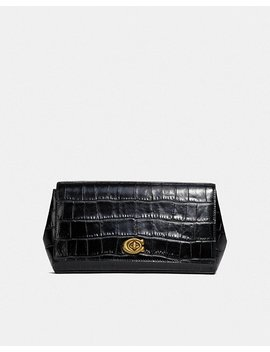 Alexa Turnlock Clutch by Coach