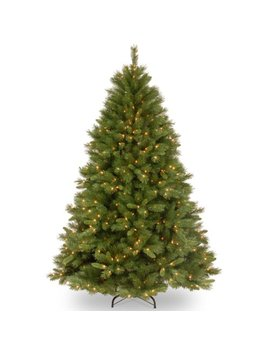 National Tree 7.5 Foot Winchester Pine Tree With 500 Clear Lights, Hinged (Wch7 300 75) by National Tree Company