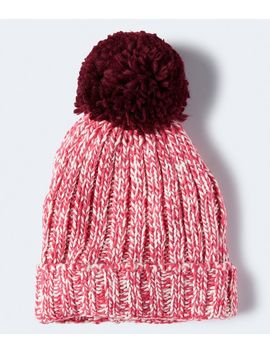 Marled Ribbed Hat by Aeropostale