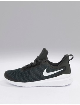 Nike Running Renew Rival Trainers In Black And White by Nike