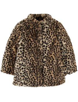 Cheetah Faux Fur Coat by Carter's
