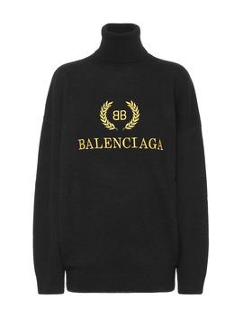 Pullover Aus Wolle Und Kaschmir by Balenciaga