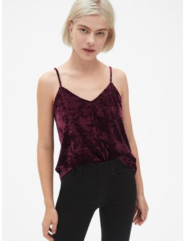 Velvet Cami by Gap