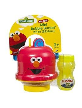 Little Kids Sesame Street Mini No Spill Bubble Bucket Elmo Toy by Little Kids