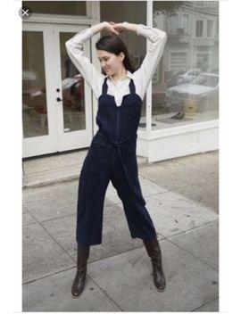 Rachel Comey   Bend Jumpsuit   Navy Linen   Size 2 by Rachel Comey