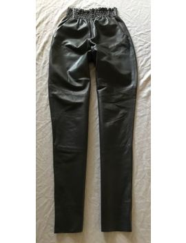 ~ Rachel Comey Gray Leather High Wast Pants (Tres Cool!) ~ 0 by Rachel Comey