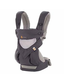 Ergobaby Carrier, 360 All Carry Positions Baby Carrier With Cool Air Mesh, Carbon Grey by Ergobaby