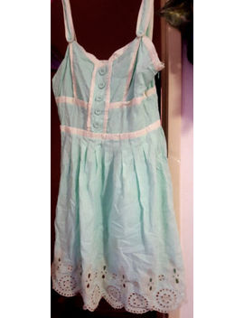 C. Luce Mint  Size 8 Baby Doll Style Dress Mint Seagreen Color by C. Luce