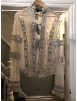 Free People New Romantics Lace Blouse Medium by Free People