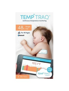 Temp Traq 48hr Temperature Monitoring Patch   1ct by Temp Traq