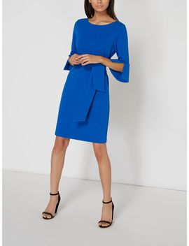 Cora Tie Front Dress by Linea