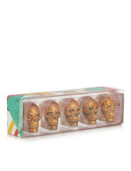 Debenhams   Gold Glitter Chocolate Skulls by Debenhams