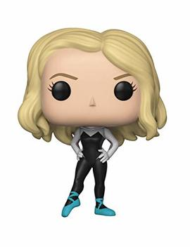 Funko Pop Marvel: Animated Spider Man Movie   Spider Gwen Collectible Figure, Multicolor by Fun Ko
