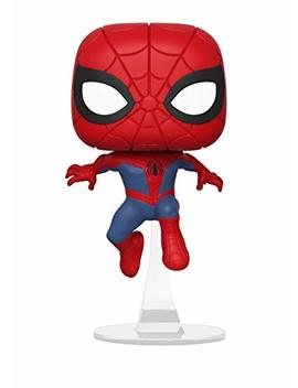 Funko Pop Marvel: Animated Spider Man Movie   Spider Man Collectible Figure, Multicolor by Fun Ko