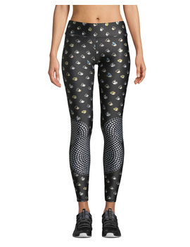 The Many Faces Of Mickey Mouse® Tall Band Leggings by Terez