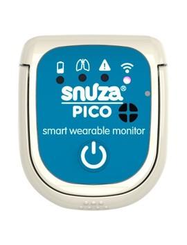 Snuza Pico Smart Wearable Movement Baby Monitor   White by Snuza