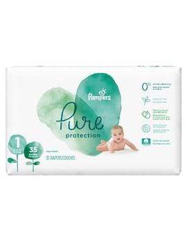 Pampers Pure Protection Diapers Mega Pack (Select Size) by Pampers Pure Protection