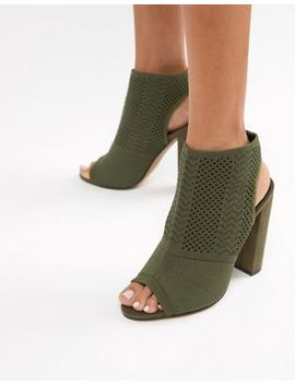 Asos Design Hissy Knitted Heels by Asos Design