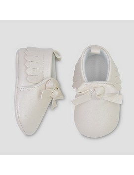 Baby Girls' Bow Moccasin   Just One You® Made By Carter's Gold by Just One You Made By Carter's