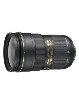Nikon Af S Fx Nikkor 24 70mm F/2.8 G Ed Zoom Lens With Auto Focus For Nikon Dslr Cameras by Nikon