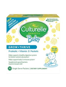 Culturelle Baby Grow + Thrive, Probiotic + Vitamin D Packets   30ct by Culturelle
