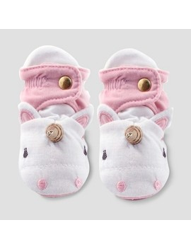 Baby Girls' Unicorn Bootie Wrap   Cloud Island™ Pink by Cloud Island