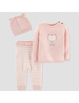 Baby Girls' 3pc Owl Collection Set   Just One You® Made By Carter's Pink by Just One You Made By Carter's