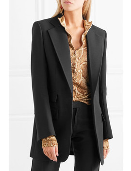 Wool And Silk Blend Blazer by Chloé