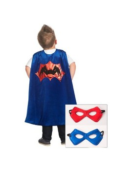 Little Adventures Spider Cape With Power Mask Red/Blue by Little Adventures