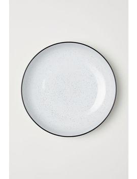 Salatschale Aus Steingut by H&M