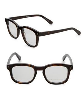 47 Mm Square Eyeglasses by Stella Mc Cartney