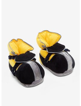 Disney Kingdom Hearts Sora Plush Slippers by Hot Topic