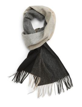 Colorblock Cashmere Scarf by Nordstrom Men's Shop