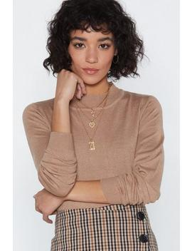 Race Against The Mock Sweater by Nasty Gal