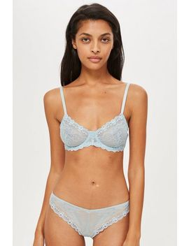Cordelia Lace Thong by Topshop